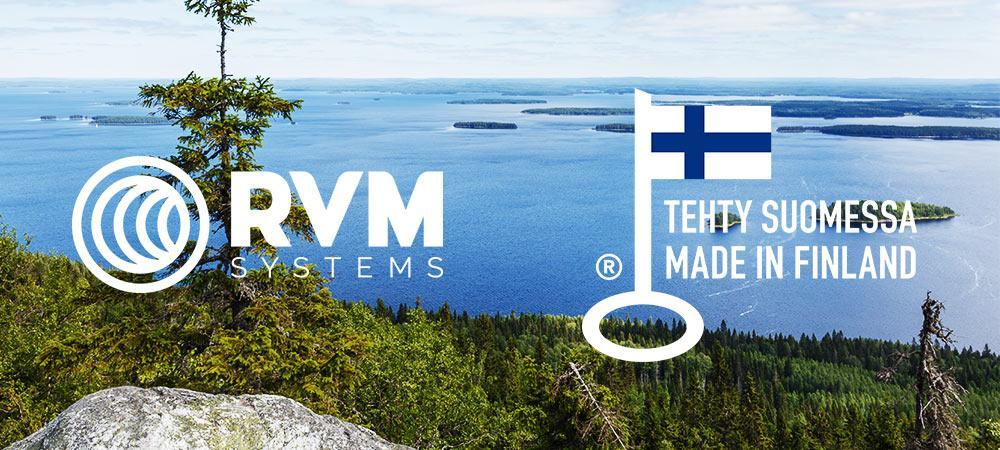 Kaikille RVM Systems -pullonpalautustuotteille Avainlippu