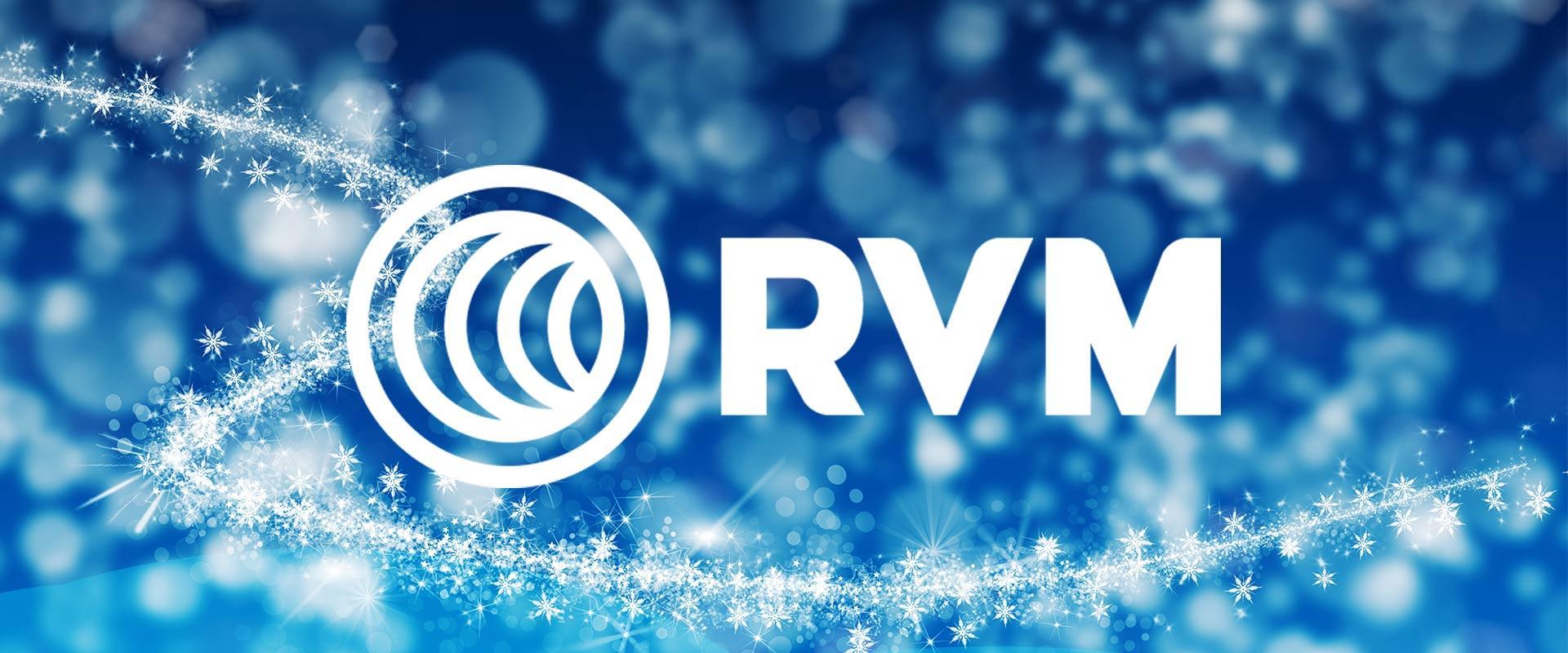RVM Systems toivottaa rauhallista joulua ja iloista uutta vuotta